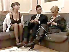Alemão Mature Threesome