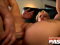 Damn, some guys have all the luck! Brooke Haven and Holly