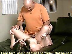 Grasa del tipo del Fucks Tetas Grandes Hottie adolescente en webcam