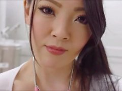 hitomi tanaka-sexy nurse play with herself in the clinic