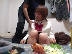 fille asiatique baisée par moi !!
