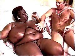 Kandee Lopes ( Mustavalkoinen BBW ) ja Blaken Palmer (valkoinen Amerikan )