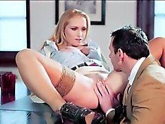Boss Kathia takes a break to fuck