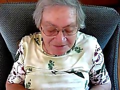 Cumshot alemão Granny 3