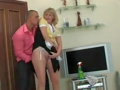 Guy fucked the maid in the ass