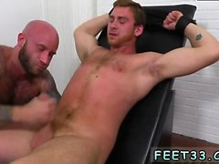 Italian gay feet xxx Connor Maguire Jerked & Tickle d