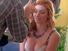 Behind the scenes with busty Heather Vandeven