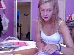 Schwangere Amateur Teen gefickt auf Webcam
