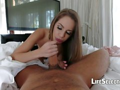 Kimmy Granger is a hot babe who fucks her friends