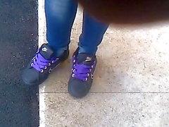vans teengirl standing