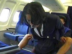 Sex i flygplanet - för AP