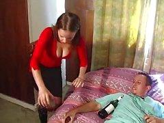 Eşi ve bir doktoraynı zamanda