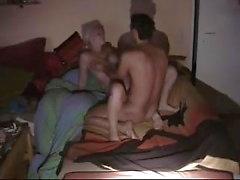 Tyskt par fångad på Hidden Cam assfuck