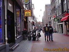 Hollandalı prossie memeler iğne yapmak