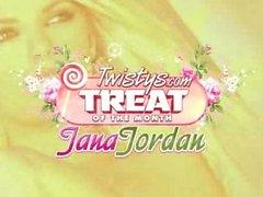 Jana Jordan Dildoing herself
