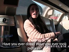 Di euro brunetta amatrice bussavano nella limousine