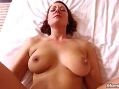 All Natural MILF har Anal Fucking POV