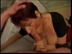 Indecent French Mature Fucks Dildo and Hard CockHD on xhdhub