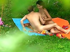 Nudité de plage de 16