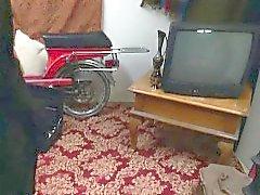 hijabi Árabe follada en el coño apretado prohibida