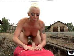 Lorelei Lee dominates her slave boy