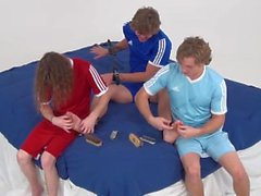 Cody's Feet Are Tormented By Tickling (Feet Frenzy)