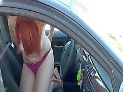 Parin on kuvattu aikana nussii autonvuokraukset