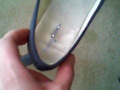 Pantyhose Cum In Girlfriends Shoe Before She Leaves For Work