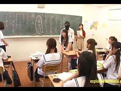 Jav del Idol Studentesse scopare da mascherato Men In classe Non
