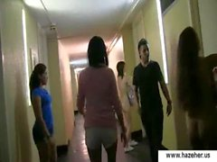 Schule Trübung girls - Teenager Mätressen in der Tätigkeit