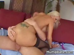 Busty babe Trina Michaels gets her ass rammed