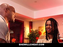 SheWillCheat - Жена ебет BBC в ванной