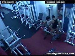 Sicherheit cam Gym