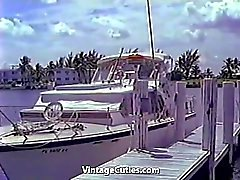 Hot wilden Naked Girls Yacht Party ( 1960 Vintages )