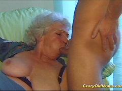 Сумасшедшие старый мама получает Big Cock устные и в киску глубоко