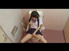 Japon kız öğrenci mastürbasyon