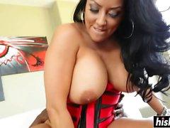 Kiara Mia loves a black boner