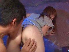 Mami Yuuki bekommt einen großen Schwanz in ihrem schönen Twat