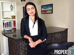 PropertySex Sexy Agent Jennifer Jacobs Accepts Client Offer