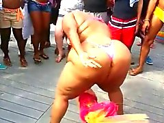 ebony bbw dansen