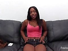 Black Hard knullas analt av Backroom Casting Couch