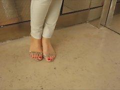 Israélien ascenseur orteils