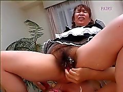 japanese grannie domestica hairy ! !