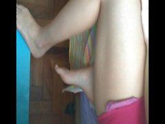 Les pieds et les semelles doux