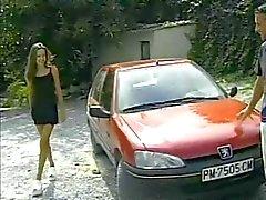 Skinny Maria Roswitha kırmızı dışında becerdin