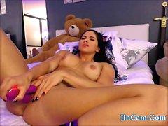 Webcam salud chica masturbarse vibrador