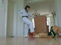 chica taekwondo
