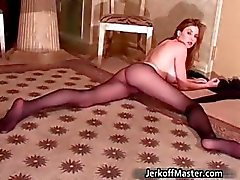 Sexy brunette bitch Jamie Lynn part3
