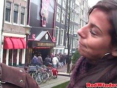 Real EURO проституткой doggystyled в голландии