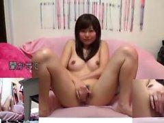 Porno Video mit Titten Massage und asiatische Masturbation
